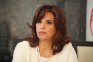 Puebla, Pue. 30-09-2012 Blanca Alacalá, senadora por Puebla, habló de las leyes que impulsará en el Senado. Foto.- José Castañares/EsImagen